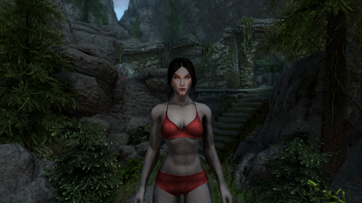 Dunmer Female Warpaint