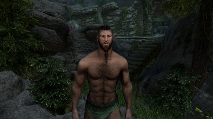 Redguard Male Warpaint